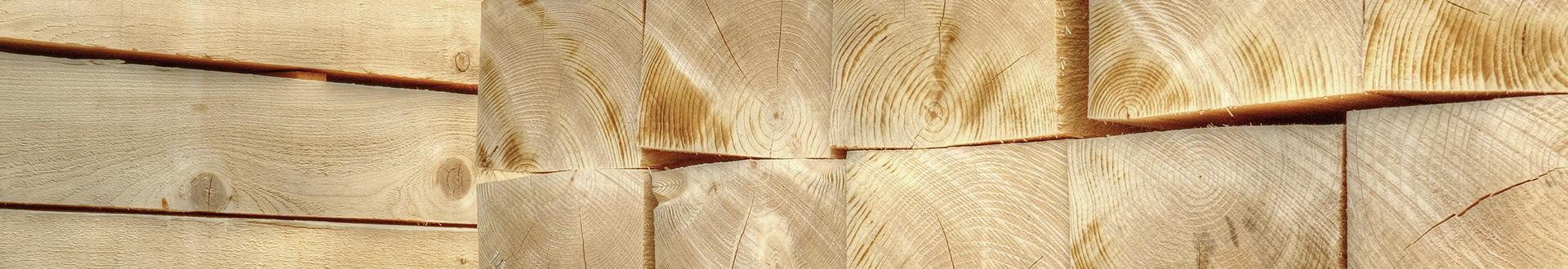 pale drewniane - Banner